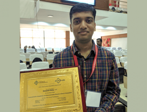 IIIT-H Alumnus Deepesh Data's ACM India Doct...