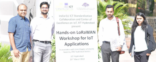 Hands-on LoRaWAN workshop for IoT applications - IIIT-Hyderabad