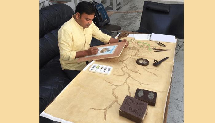 A Brush With Bordeaux: IIITH Faculty Sunil Lohar S...