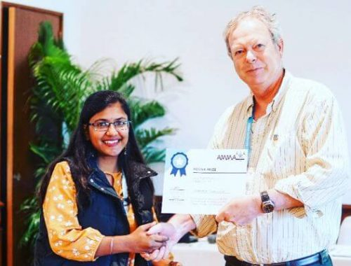 IIITH Student Tanashree Jaganade Wins Best Poster ...