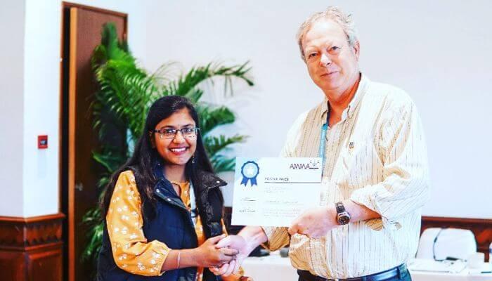 IIITH Student Tanashree Jaganade Wins Best Poster ...