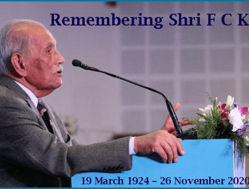 Remembering Shri F C Kohli